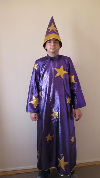 Выкройка костюма звездочёт