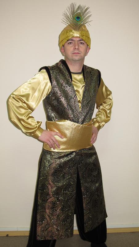 костюм фото султана