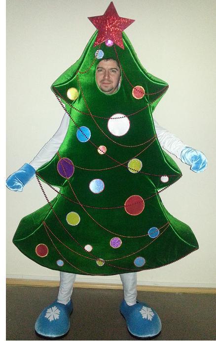 Карнавальные костюмы елки своими руками