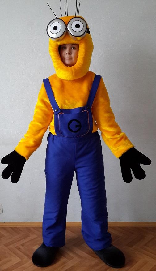 Как сделать костюм Миньона своими руками?