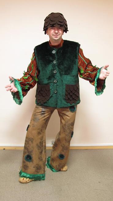 Взрослый костюм лешего своими руками фото