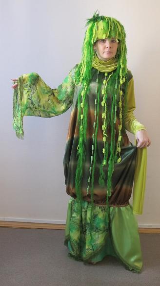 Сделать костюм кикиморы своими руками из подручных